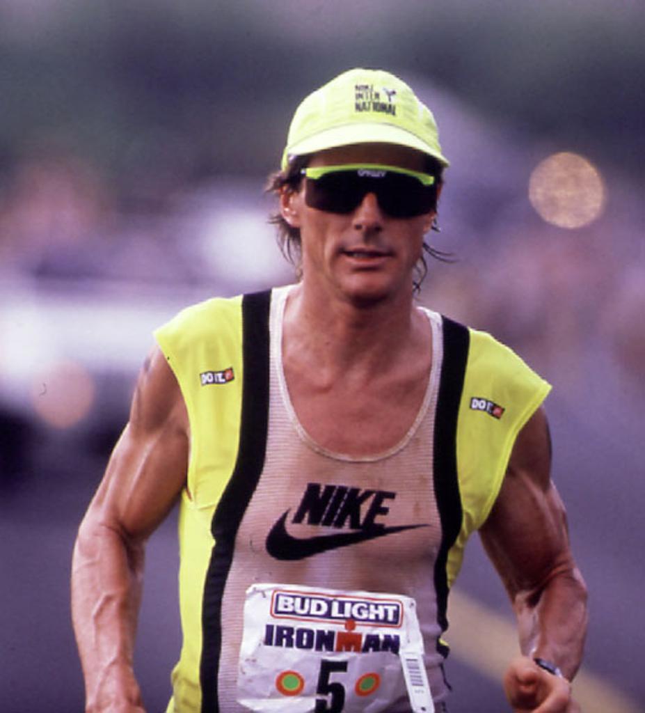 Mark Allen racing