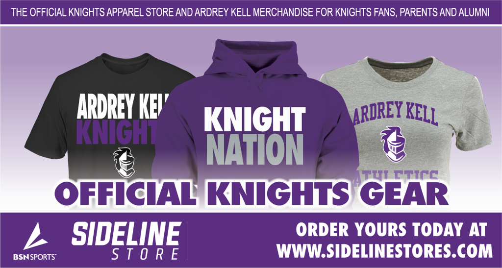 Official Spirit Wear Store of the Ardrey Kell Knights