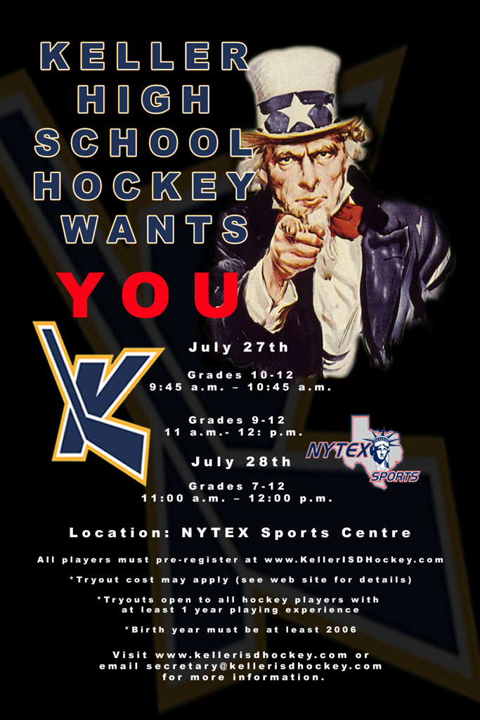 2019 KISD Hockey Tryouts