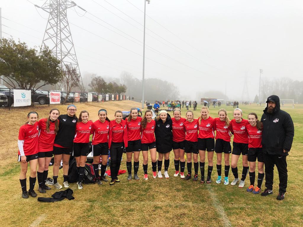 Coach Kieren & the 04 Girls Vapor
