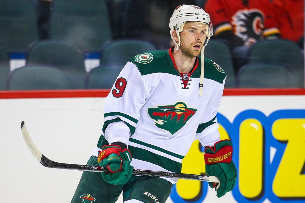 MN Wild Nate Prosser hockey stick