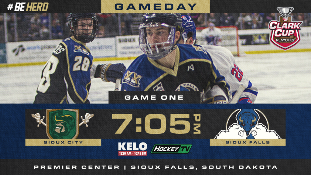 Stampede Open Playoff Series With Sioux City Tonight