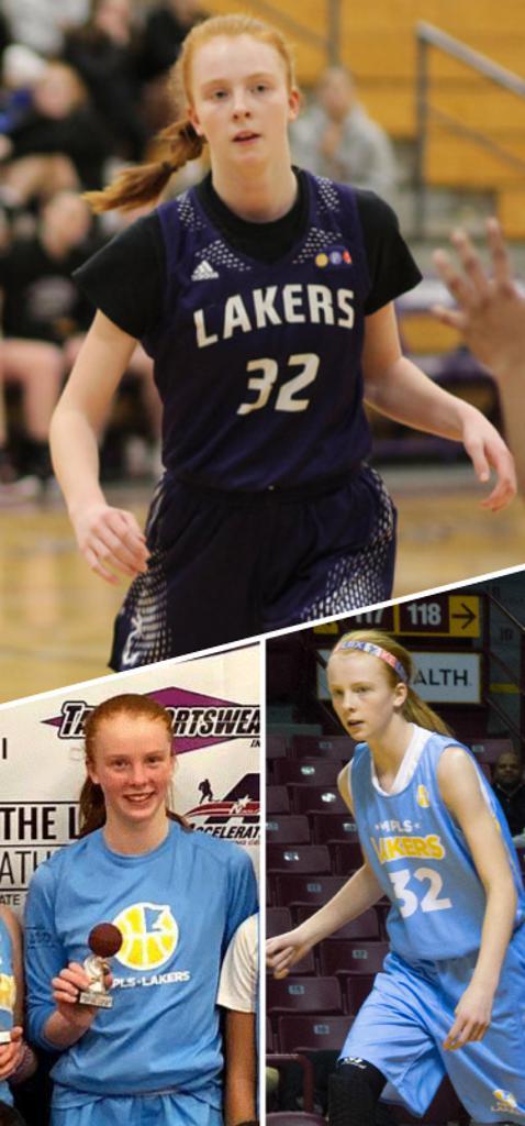 Megan Schoenke Southwest Lakers Class of 2024  Mpls Lakers 2017-2019