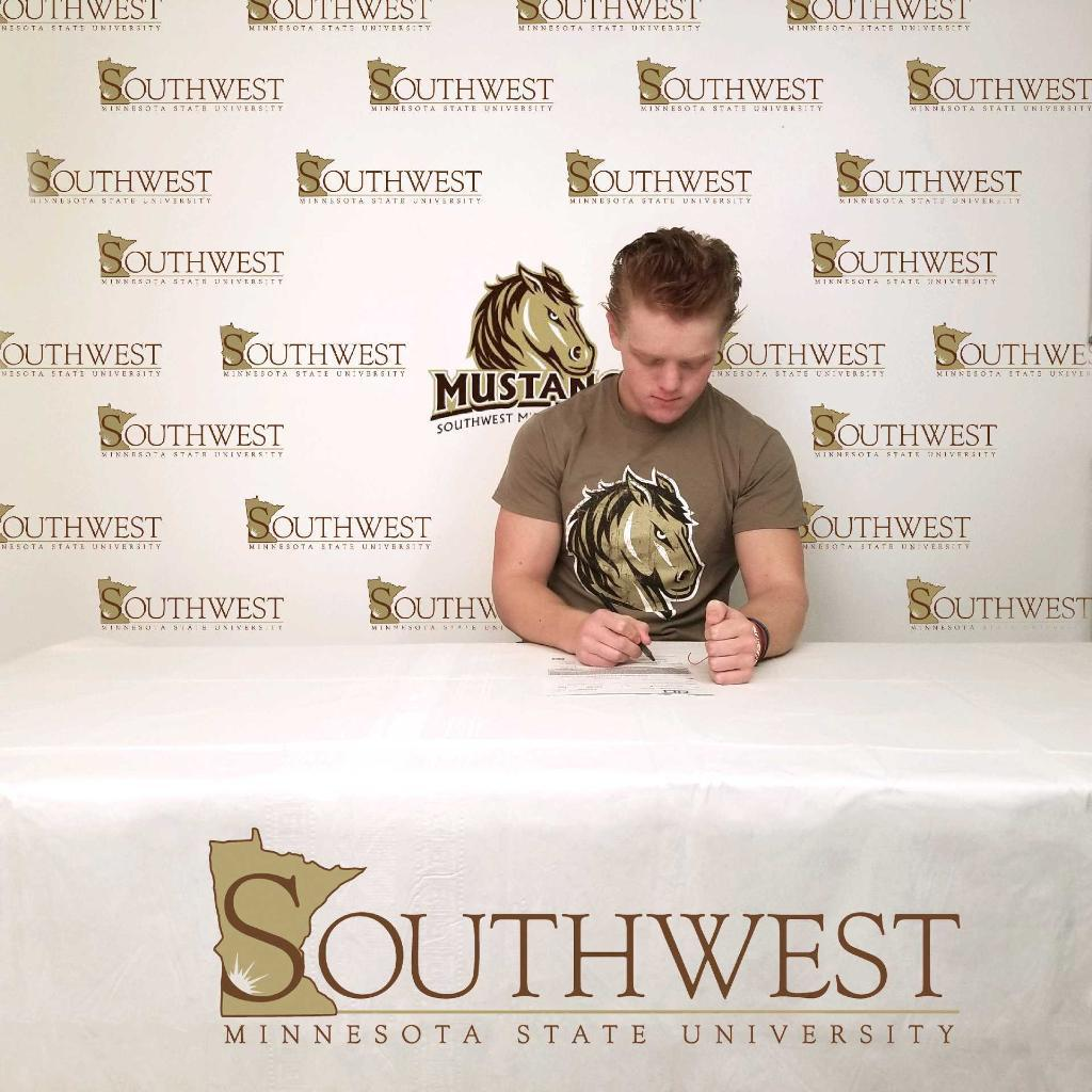 Nick Brown joins the Southwest MN State Mustangs in the fall of 2021.