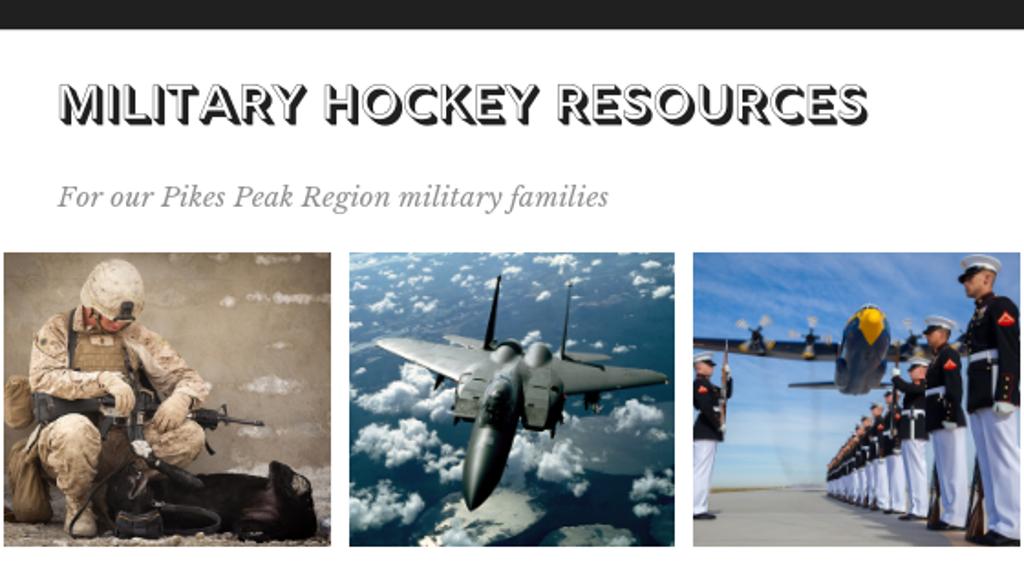 military hockey resources colorado rampage
