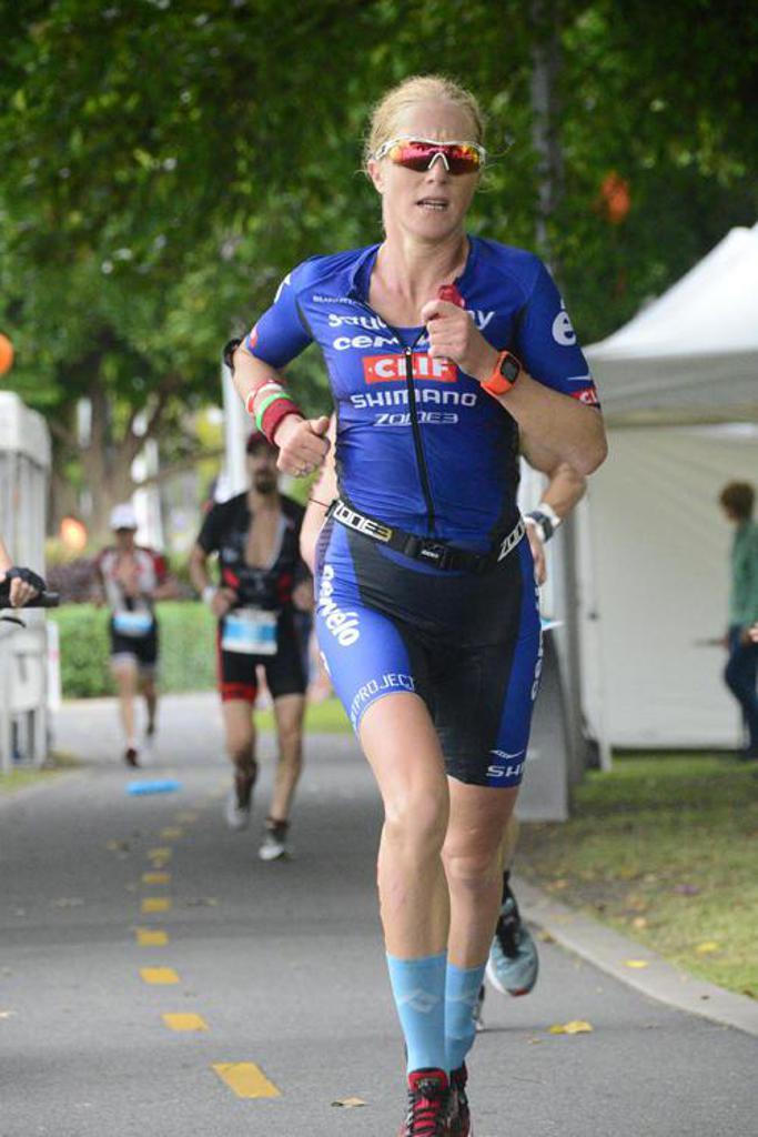 Sarah Piampiano running