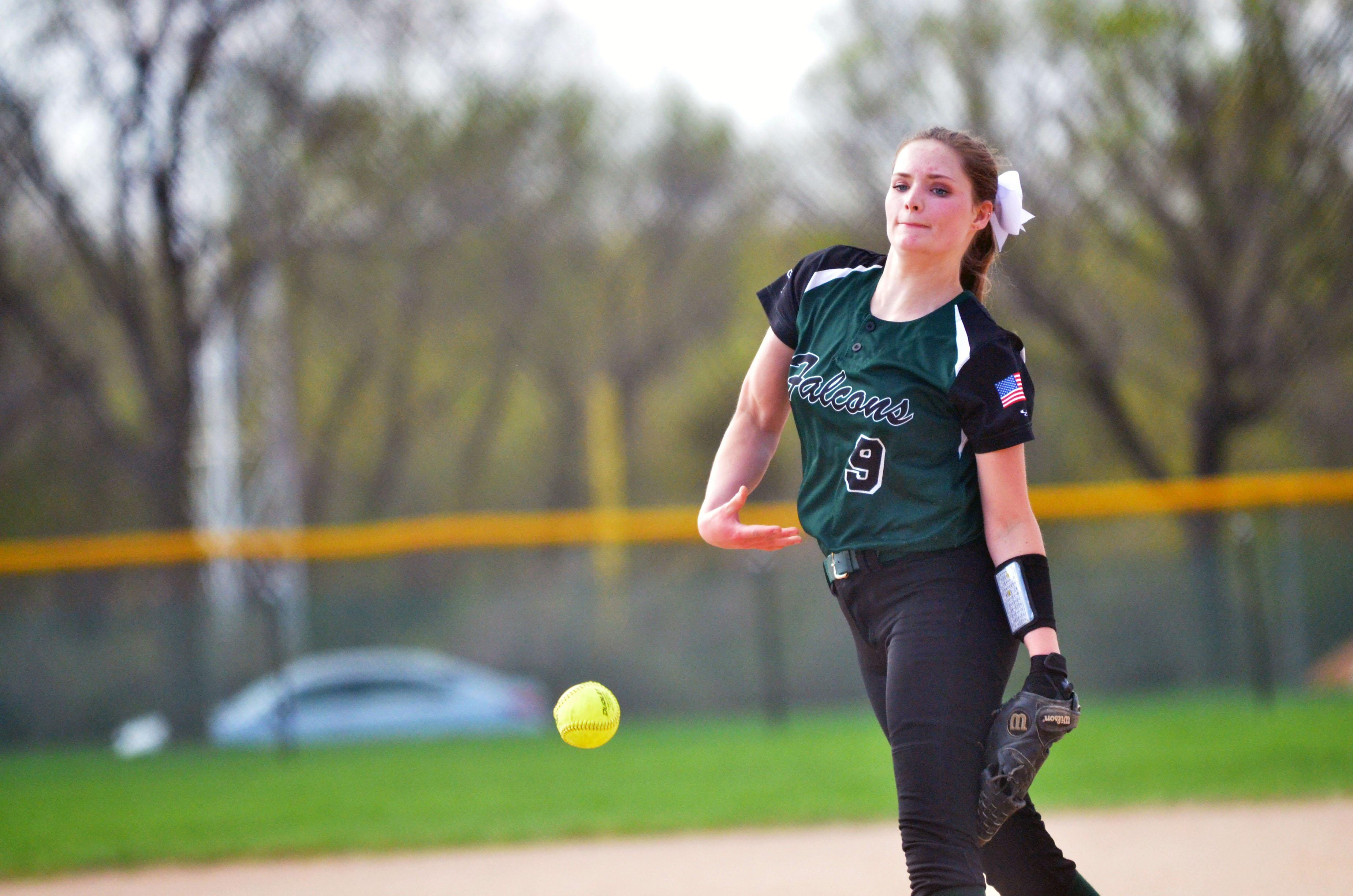 Faribault is in the state tournament for the first time in school history and is the No. 1 seed in Class 3A. The Falcons will open tournament play against Bemidji. Photo by Mike Randleman, Faribault Daily News