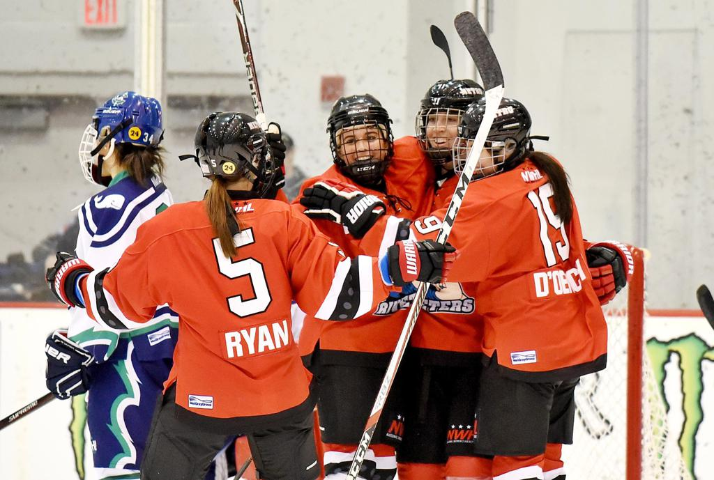 bc16ff7a1f0 Riveters Advance to Isobel Cup Semifinal with 5-2 Win over Whale