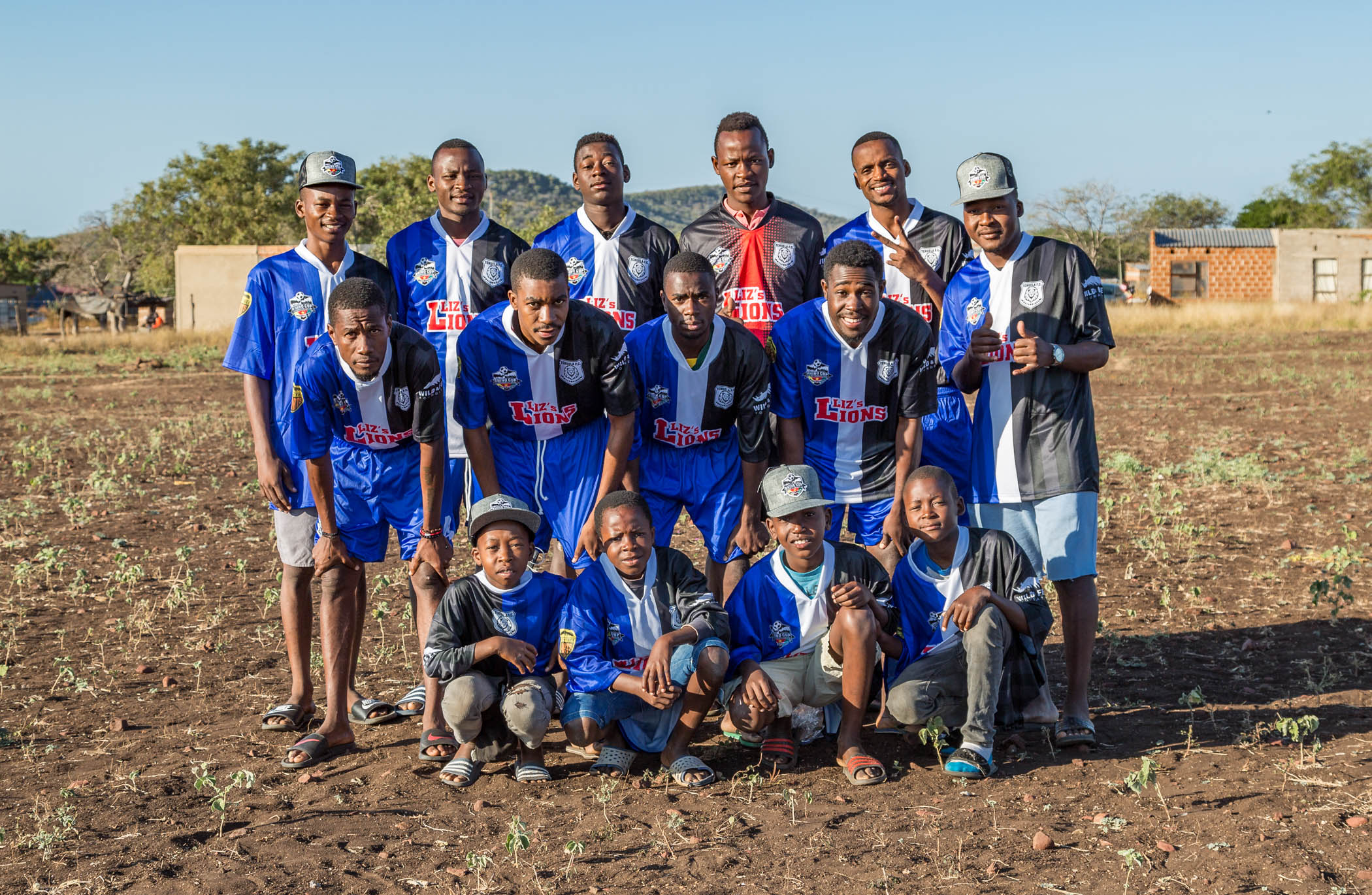 Tchuela FC Lions Team Photo Rhino Cup Champions League, May 2019