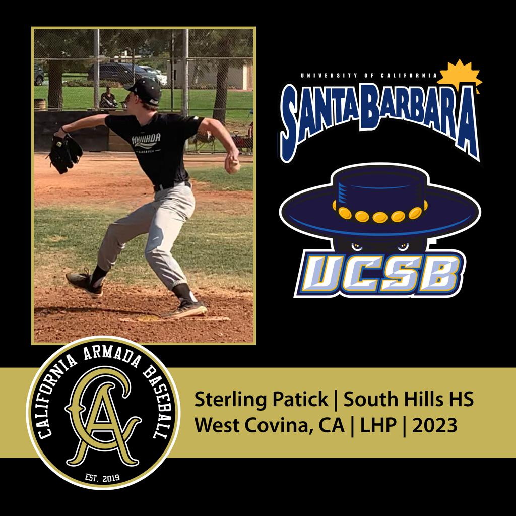 Sterling Patick Commits to UCSB!