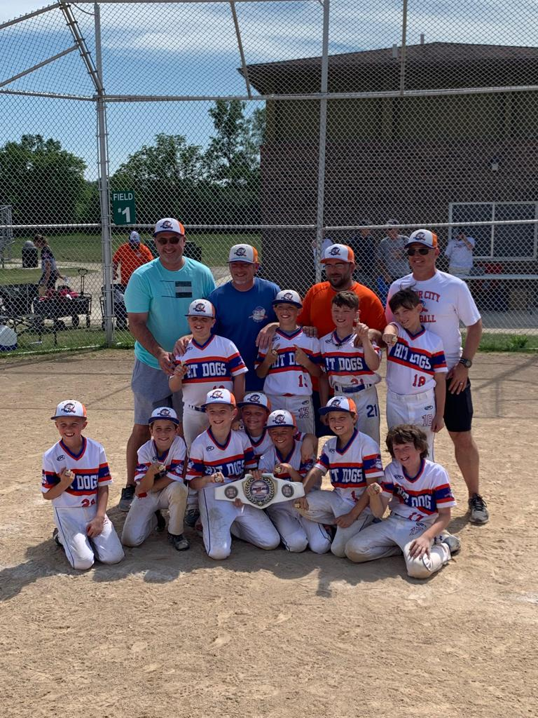 Congrats to our 9u STATE CHAMPS