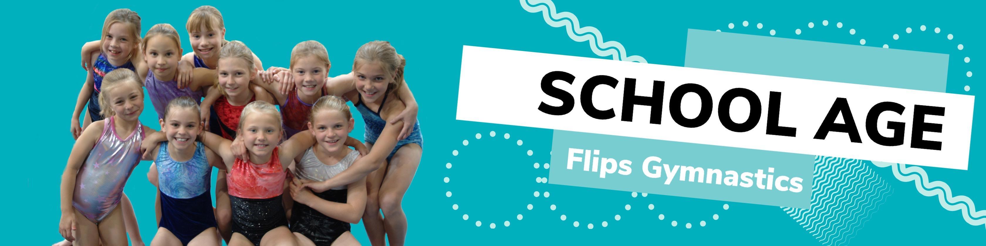 Flips Gymnastics School Age For All Minnesota