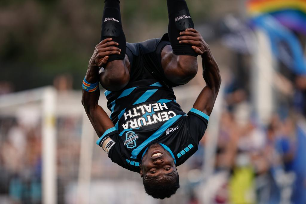 FOUR GOALS EARN SWITCHBACKS FC FIRST WIN IN DOWNTOWN COLORADO SPRINGS HISTORY AT WEIDNER FIELD