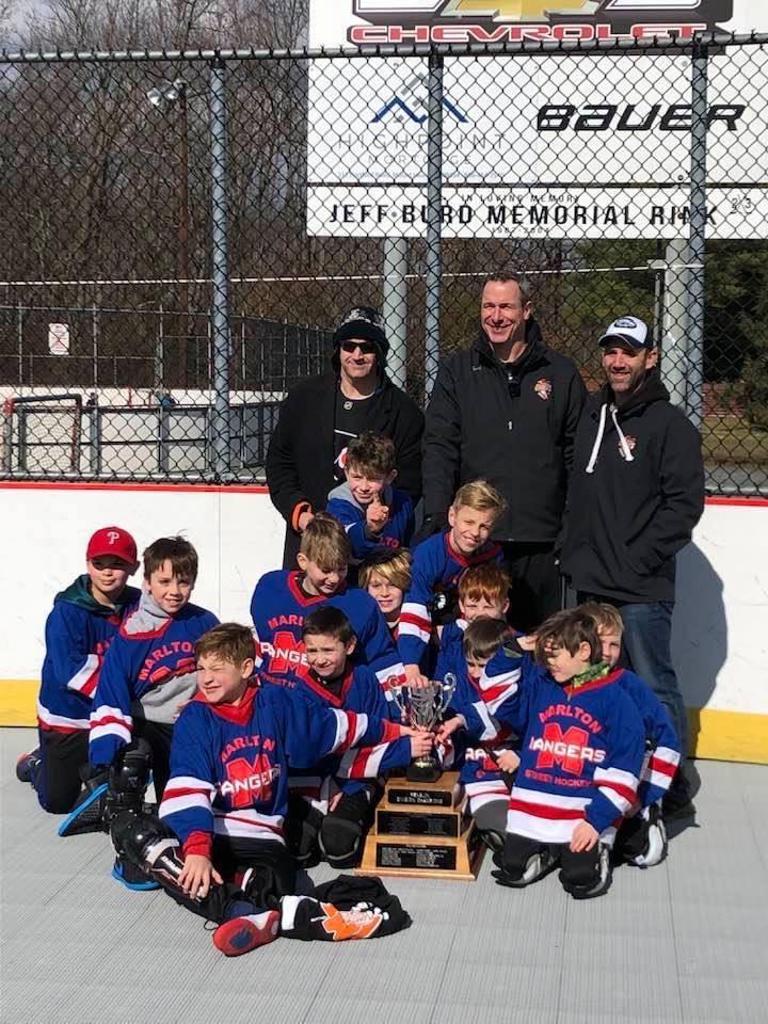 Penguin Stanley Cup Champions Rangers- Coach Mondi