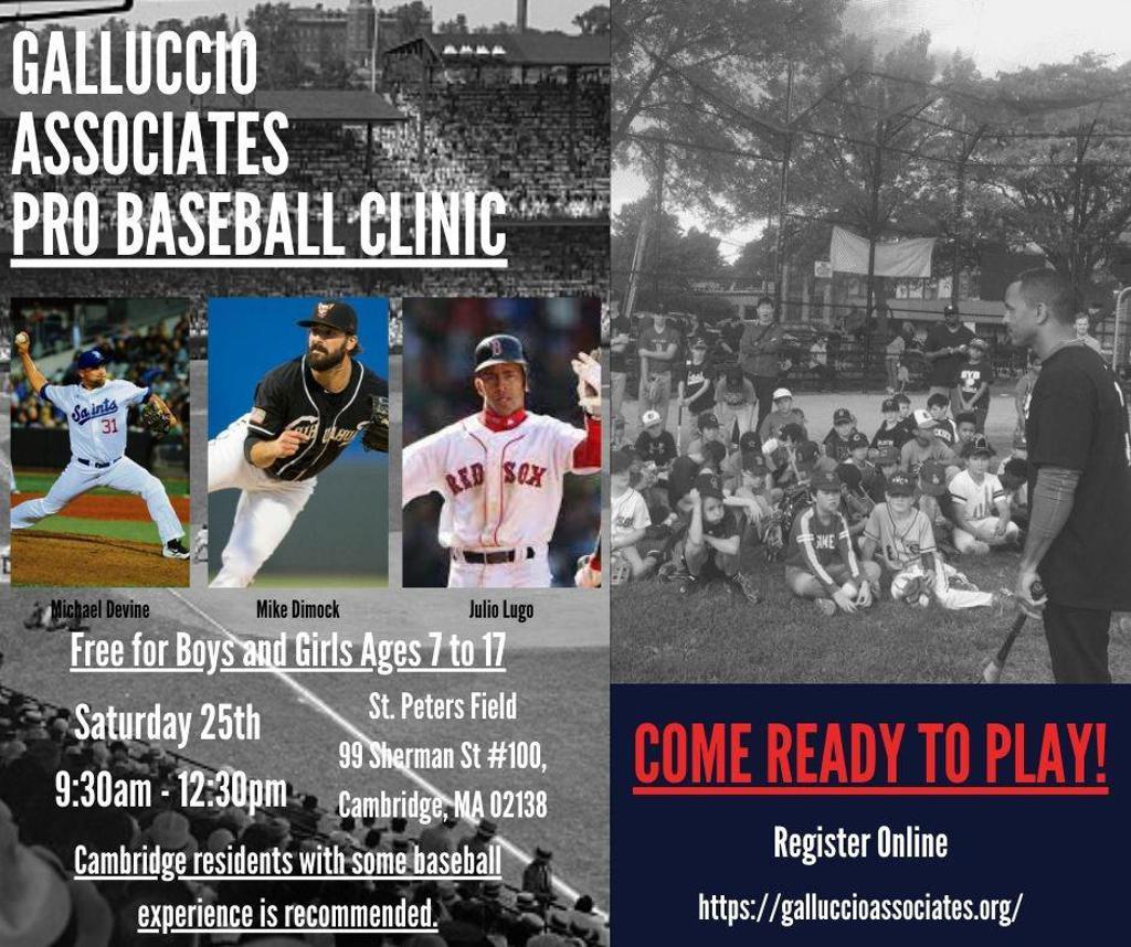 Free Pro Baseball Clinic