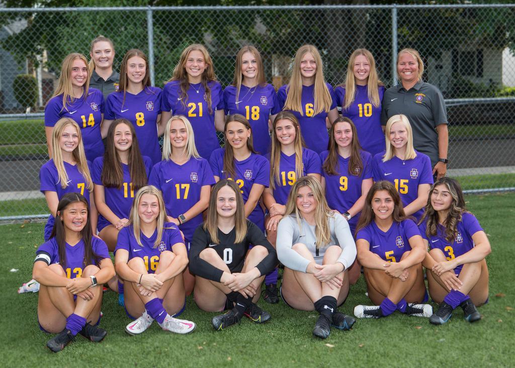 2021 Girls Varsity Soccer Team