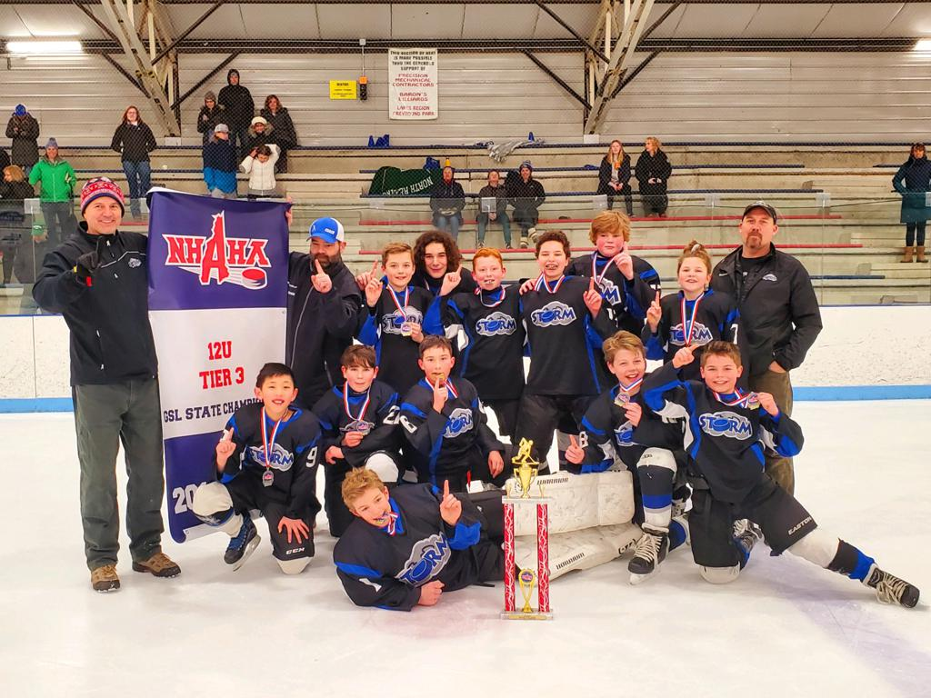 Peewee Tier 3 State Champs