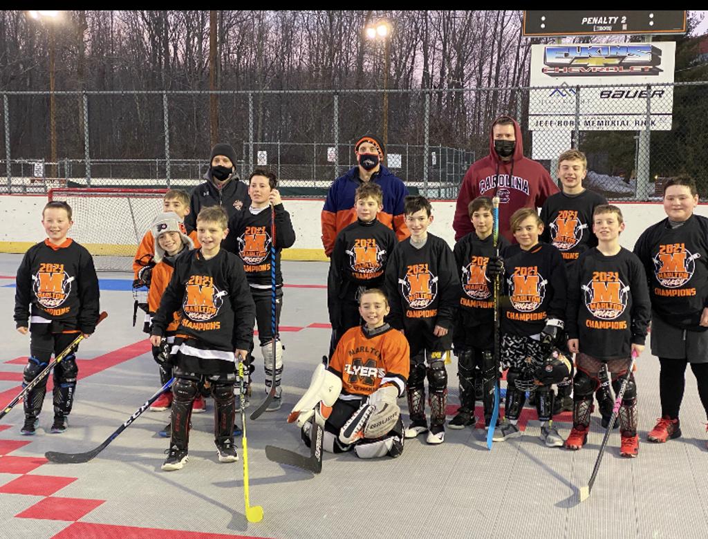 Beaver Calder Cup Champions- Coach Bailey's Flyers
