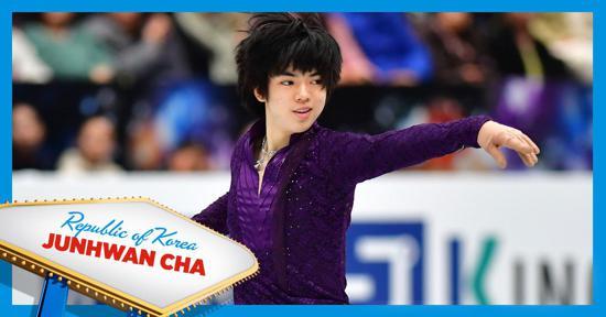 Skate America men's competitor - Junwhan Cha - Korea