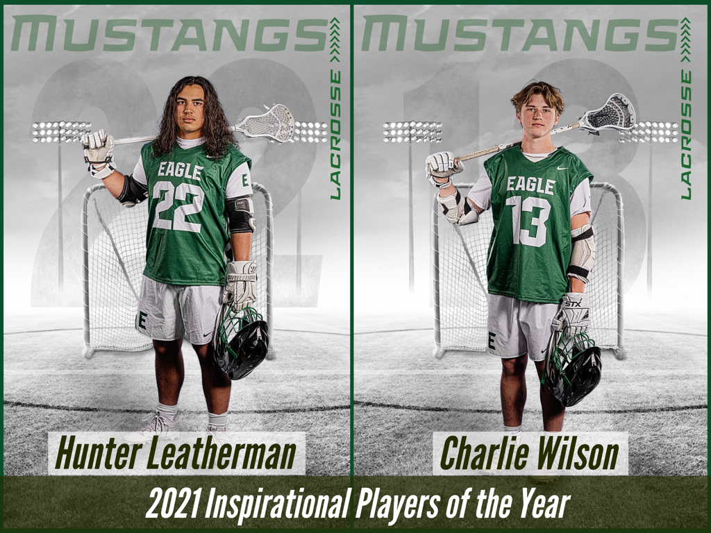 2021 Inspirational Players of the Year - Hunter Leatherman & Charlie Wilson