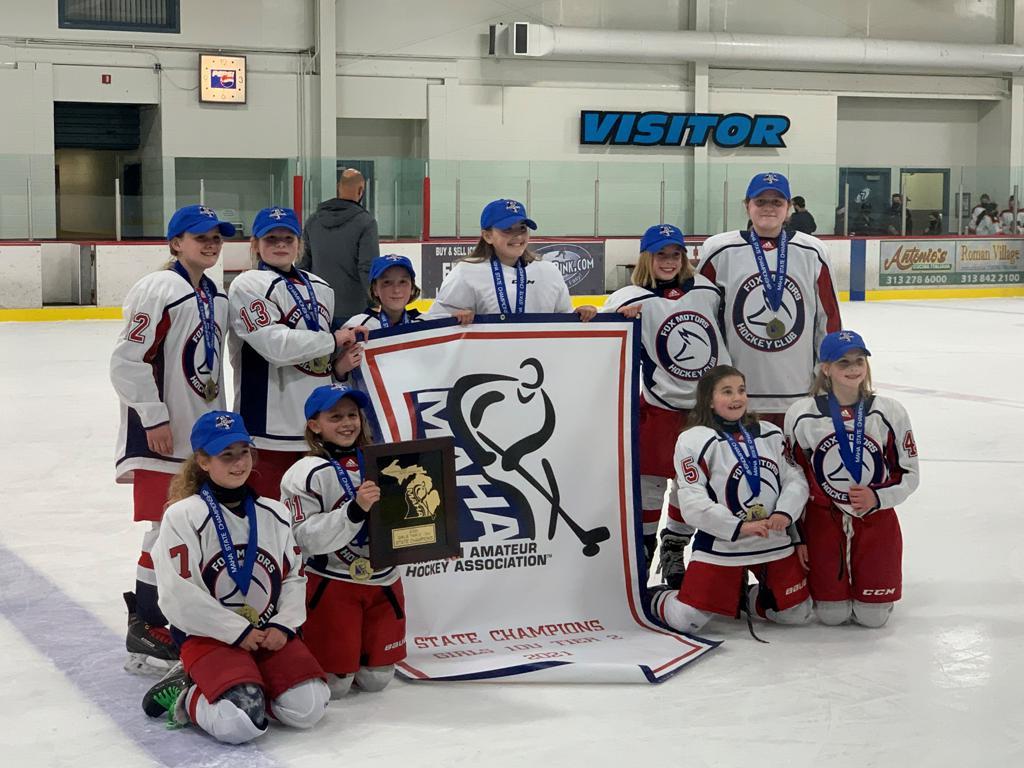 2010 Girls 10U Red MAHA State Champions