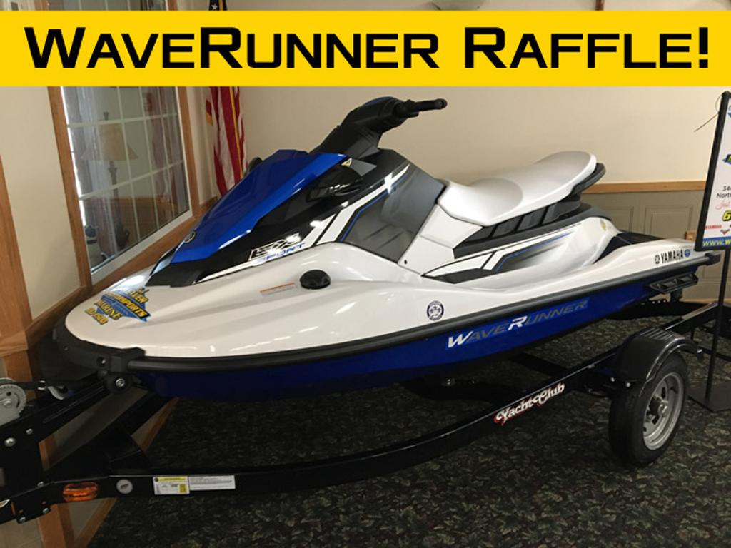 WaveRunner + trailer raffle