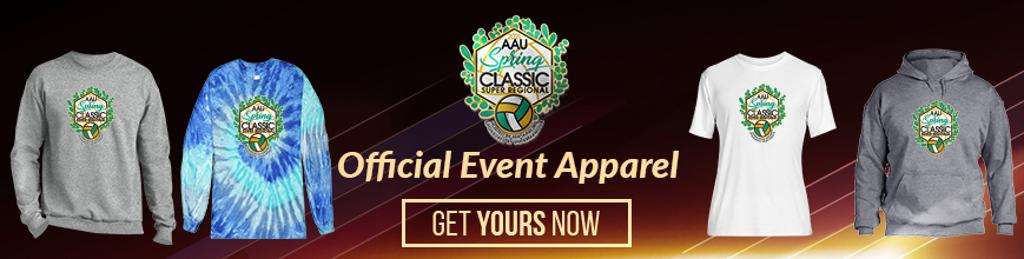 Avoid lines at the Event, order your event gear online!