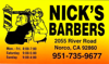 Sponsored by Nick's Barber