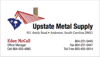 Sponsored by Upstate Metal Supply