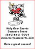 Sponsored by Holy Cow Sports