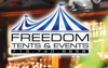 Sponsored by Freedom Tents and Events