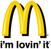 Mcdonalds logo element view