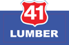 Sponsored by 41 Lumber