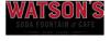 Sponsored by Watson's Soda Fountain & Cafe