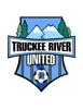 Truckee river united logo element view
