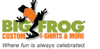 Sponsored by Big Frog Custom Tshirts & More