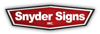 Sponsored by Snyder Signs