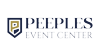 Sponsored by Peeples Event Center