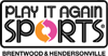 Sponsored by Play It Again Sports, Brentwood