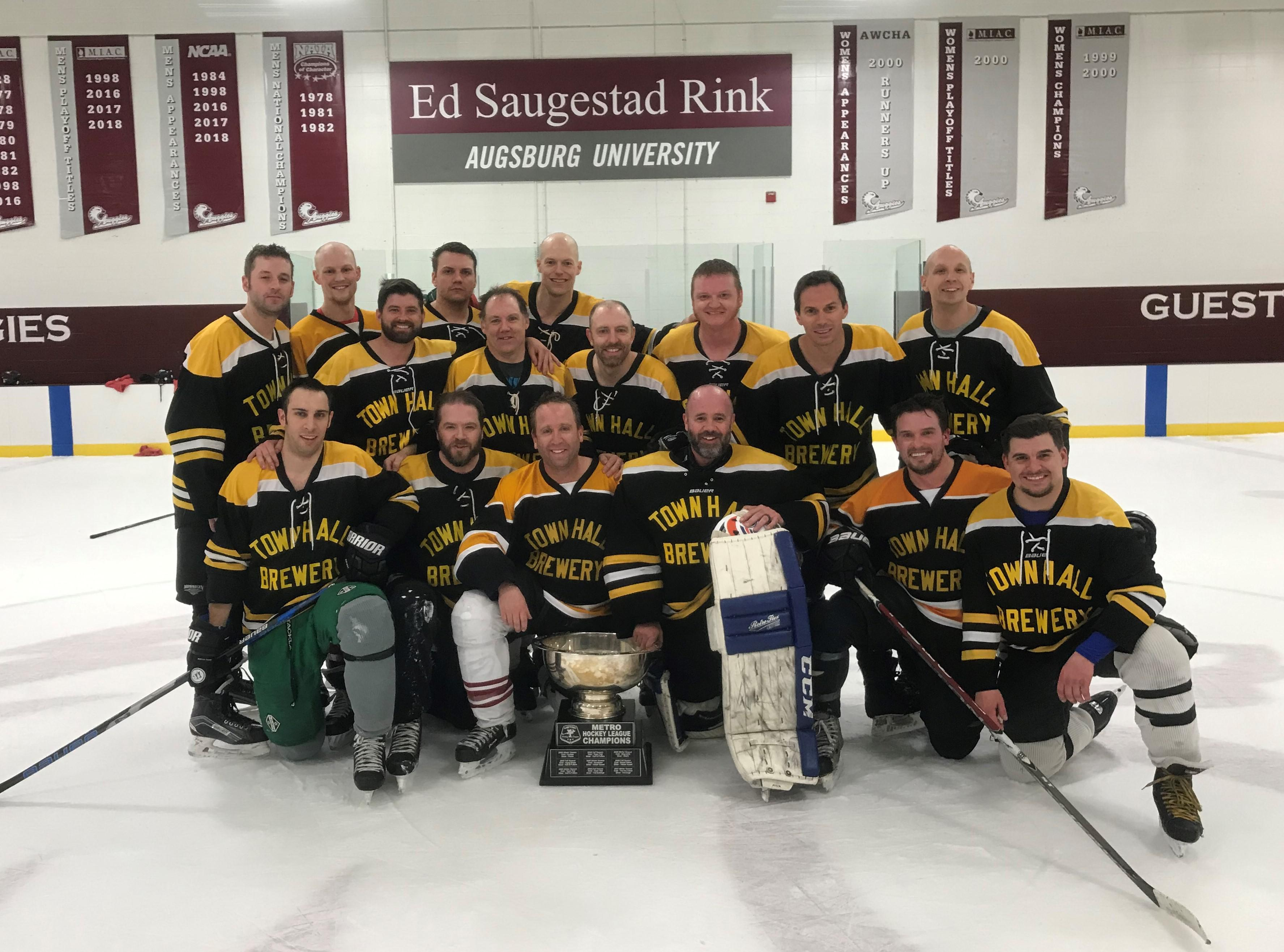 2019 Bronze Champs - Townhall Brewery