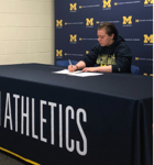 Troy Lady Sting 19U Signs with UofM Dearborn