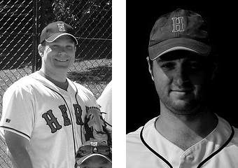 Greg Bochan (left) and Andy Cornish will manage the Herts Hawks