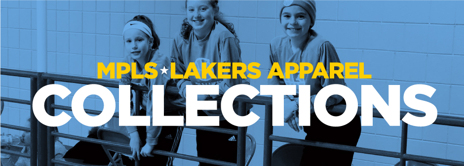 Past apparel collections of Mpls Lakers spiritwear and gear