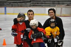 Wildcat Hockey players are extremely active in the Tucson community.