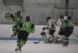 Stewart Celebrates the Very First Eclipse Hockey Goal