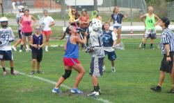 Girls vs. Boys Lacrosse