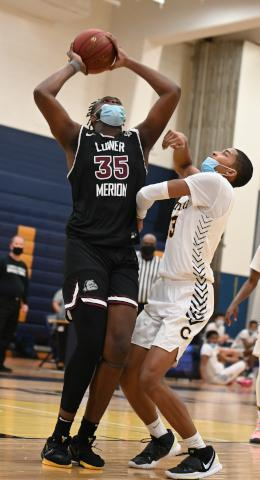 Demetrius Lilley goes for a layup