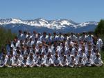 martial arts kids at Taekwondo Camp