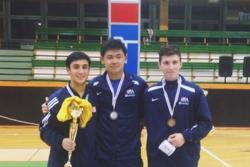 Andrew Doddo And Erwin Cai Win Gold And Silver In Godollo