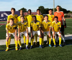The Reading United Starting XI vs. Lehigh Valley United
